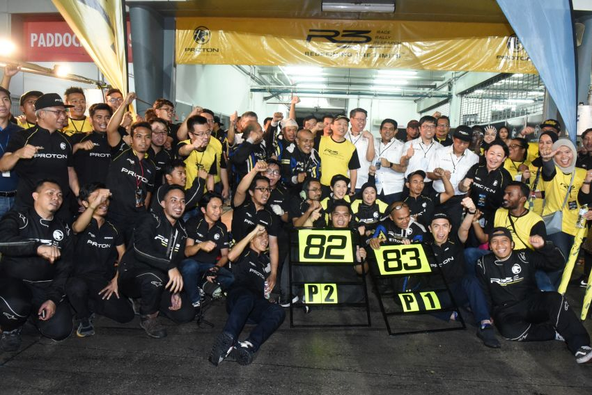 Proton R3 wins Sepang 1000KM – third win in a row, ladies trio seventh from P26 start; HMRT finishes 3rd Image #1050457