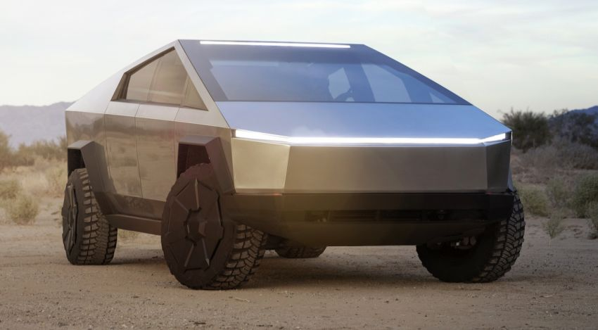 Tesla Cybertruck unveiled – space-age design electric pick-up with 800 km range, 0-96 km/h in 2.9 seconds Image #1050025