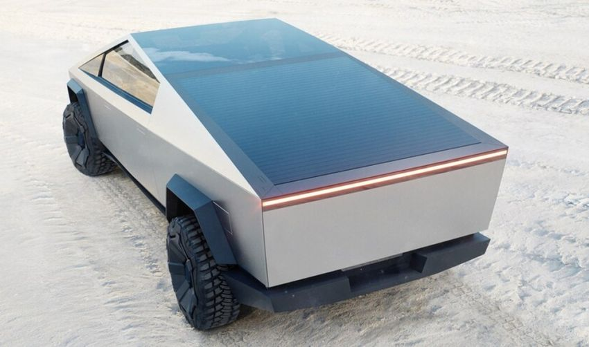 Tesla Cybertruck unveiled – space-age design electric pick-up with 800 km range, 0-96 km/h in 2.9 seconds Image #1050036