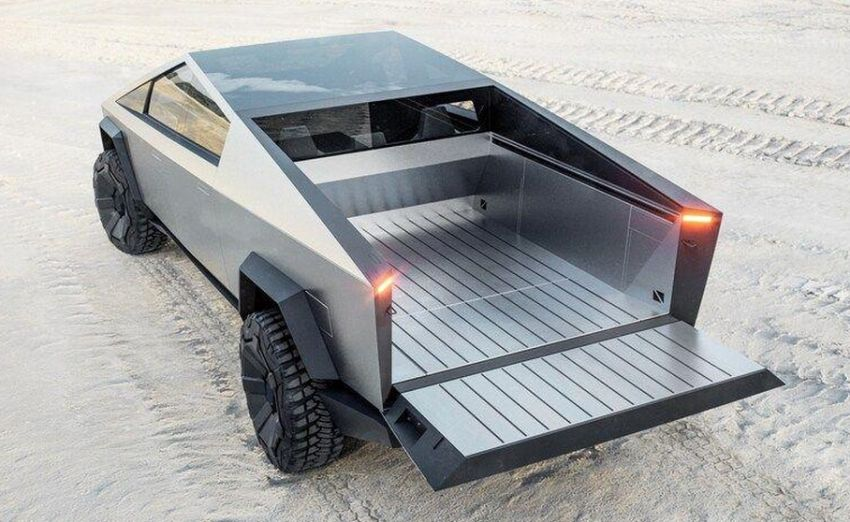 Tesla Cybertruck unveiled – space-age design electric pick-up with 800 km range, 0-96 km/h in 2.9 seconds Image #1050037