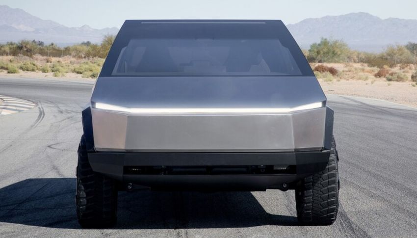 Tesla Cybertruck unveiled – space-age design electric pick-up with 800 km range, 0-96 km/h in 2.9 seconds Image #1050046