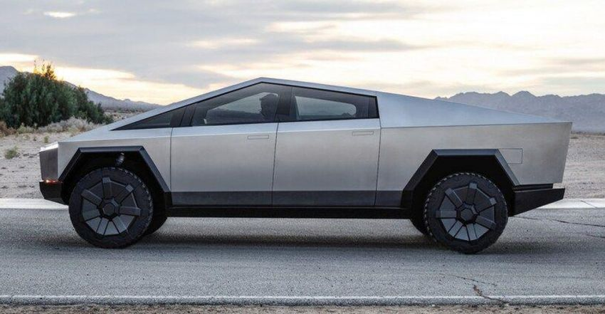 Tesla Cybertruck unveiled – space-age design electric pick-up with 800 km range, 0-96 km/h in 2.9 seconds Image #1050043