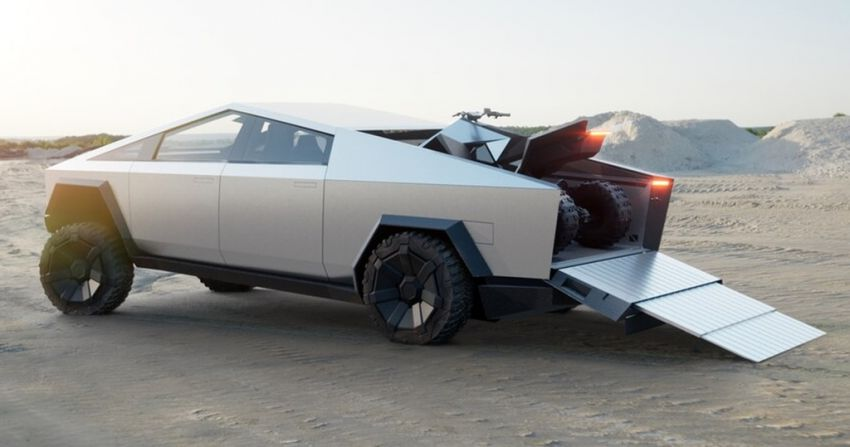 Tesla Cybertruck unveiled – space-age design electric pick-up with 800 km range, 0-96 km/h in 2.9 seconds Image #1050044