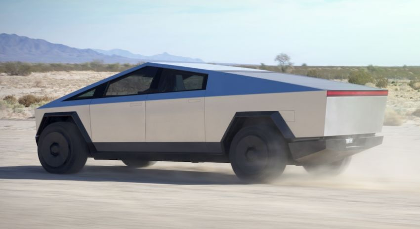 Tesla Cybertruck unveiled – space-age design electric pick-up with 800 km range, 0-96 km/h in 2.9 seconds Image #1050024