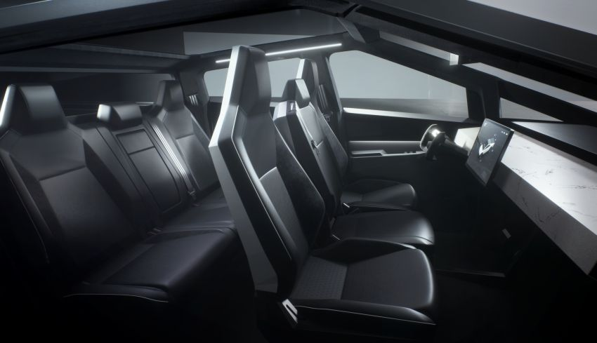 Tesla Cybertruck unveiled – space-age design electric pick-up with 800 km range, 0-96 km/h in 2.9 seconds Image #1050023