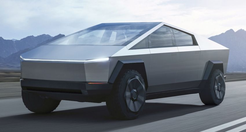 Tesla Cybertruck unveiled – space-age design electric pick-up with 800 km range, 0-96 km/h in 2.9 seconds Image #1050022