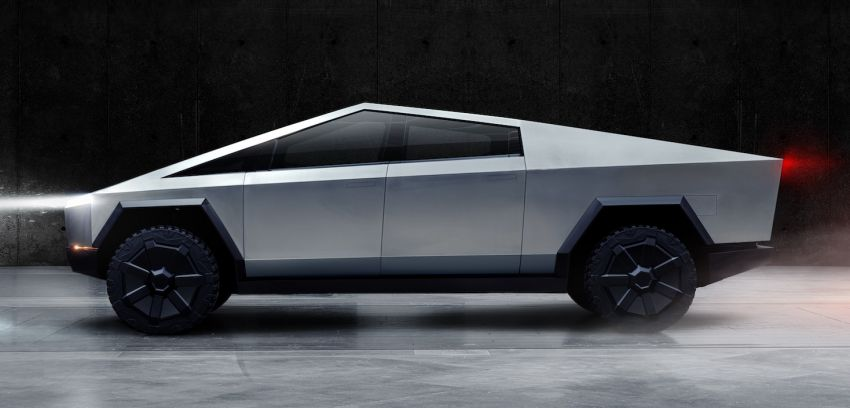 Tesla Cybertruck unveiled – space-age design electric pick-up with 800 km range, 0-96 km/h in 2.9 seconds Image #1050021