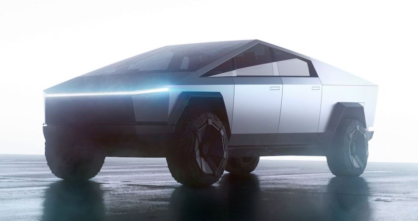 Tesla Cybertruck unveiled – space-age design electric pick-up with 800 km range, 0-96 km/h in 2.9 seconds Image #1050020