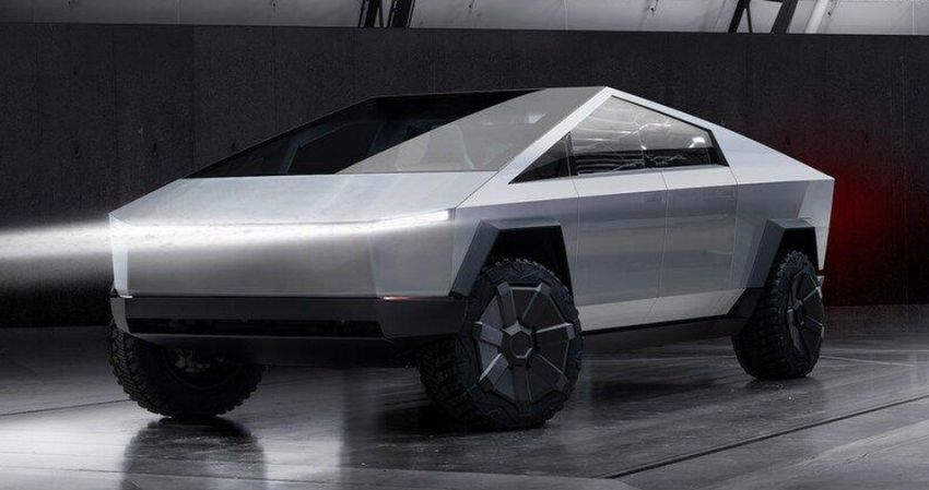 Tesla Cybertruck unveiled – space-age design electric pick-up with 800 km range, 0-96 km/h in 2.9 seconds Image #1050034