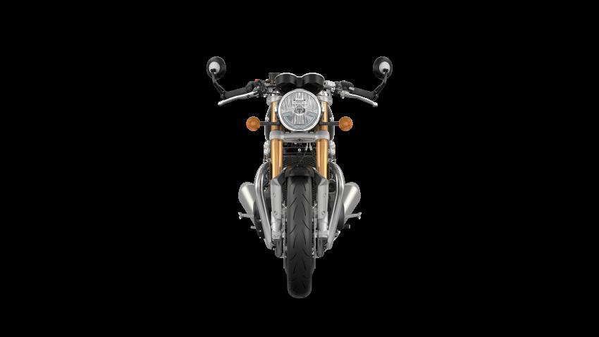 EICMA 2019: 2020 Triumph Thruxton RS – 105 hp Image #1043738