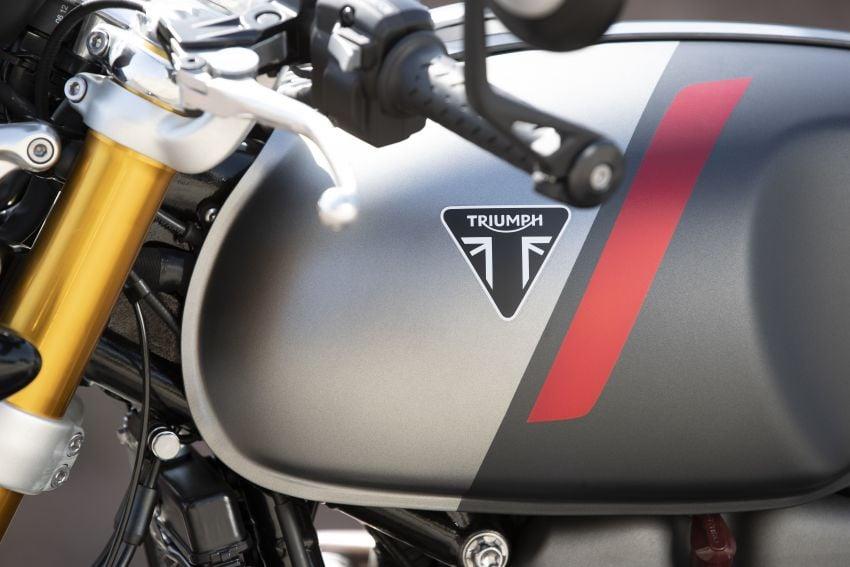 EICMA 2019: 2020 Triumph Thruxton RS – 105 hp Image #1043737