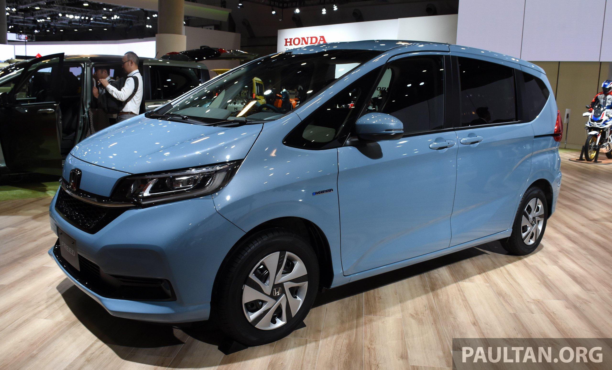Tokyo 2019: Honda Freed facelift gets minor changes Tokyo 2019 Honda Freed facelift-2 - Paul Tan ...