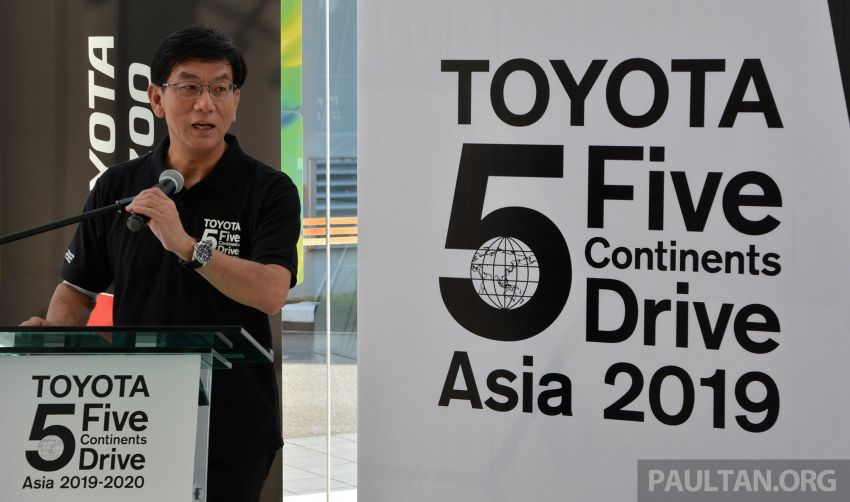 Toyota 5 Continents Drive pitstops in Malaysia – R&D staff experience different cultures to make better cars Image #1041326