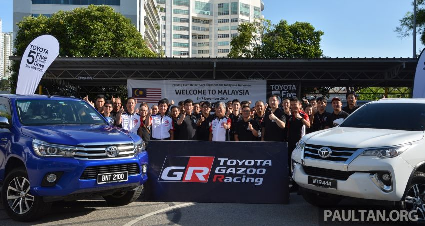 Toyota 5 Continents Drive pitstops in Malaysia – R&D staff experience different cultures to make better cars Image #1041328