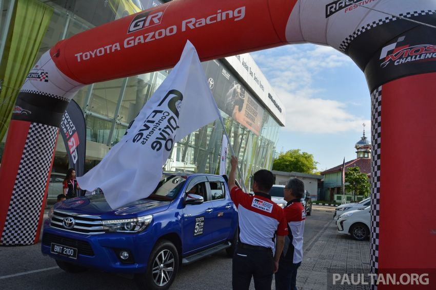 Toyota 5 Continents Drive pitstops in Malaysia – R&D staff experience different cultures to make better cars Image #1041329