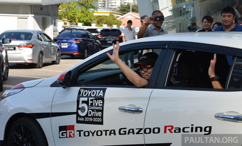 Toyota 5 Continents Drive pitstops in Malaysia – R&D staff experience different cultures to make better cars Image #1041331