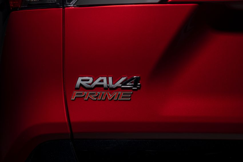 Toyota RAV4 Prime – plug-in hybrid SUV with 302 hp Image #1049404