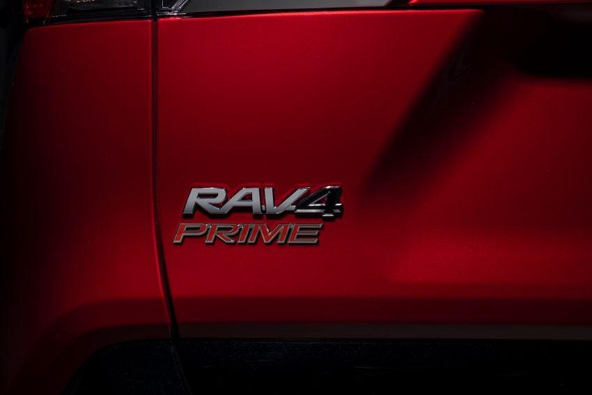 Toyota RAV4 Prime – plug-in hybrid SUV with 302 hp Image #1049404