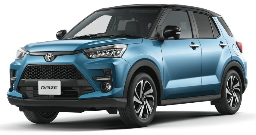 Toyota Raize revealed – rebadged Daihatsu Rocky, 98 PS 1.0L turbo three-pot, CVT, optional AWD, fr RM64k Image #1040430