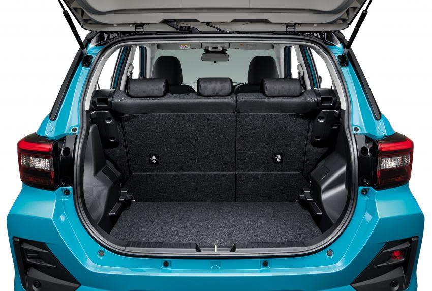 Toyota Raize revealed – rebadged Daihatsu Rocky, 98 PS 1.0L turbo three-pot, CVT, optional AWD, fr RM64k Image #1040548