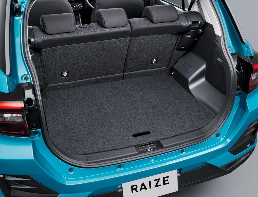 Toyota Raize didedahkan – <em>rebadge</em> dari Daihatsu Rocky, enjin 1.0 liter tiga-silinder, harga dari RM64k Image #1040578