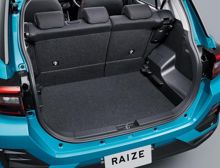 Toyota Raize revealed – rebadged Daihatsu Rocky, 98 PS 1.0L turbo three-pot, CVT, optional AWD, fr RM64k Image #1040553