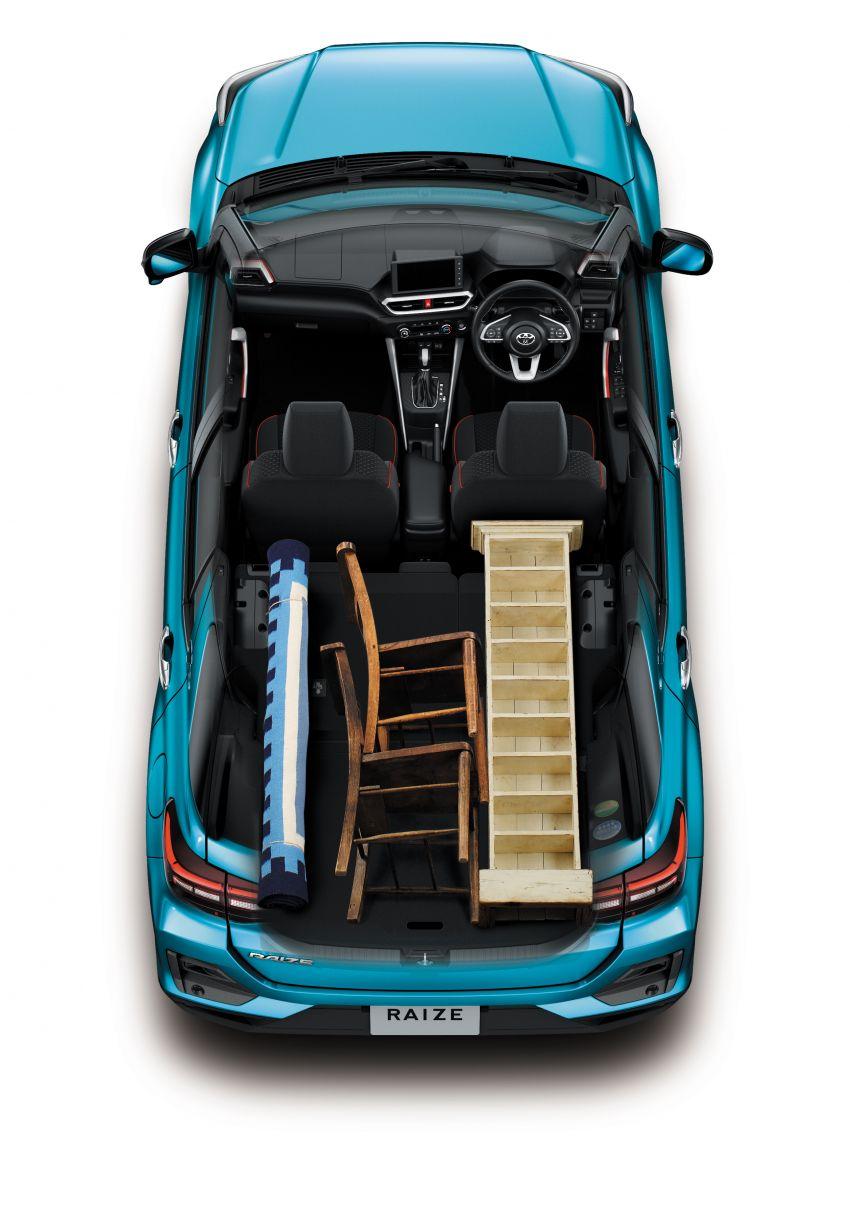 Toyota Raize revealed – rebadged Daihatsu Rocky, 98 PS 1.0L turbo three-pot, CVT, optional AWD, fr RM64k Image #1040561