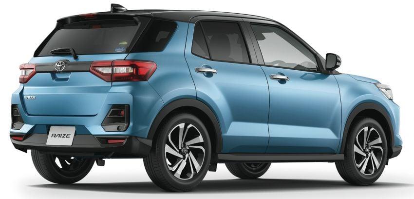 Toyota Raize revealed – rebadged Daihatsu Rocky, 98 PS 1.0L turbo three-pot, CVT, optional AWD, fr RM64k Image #1040431