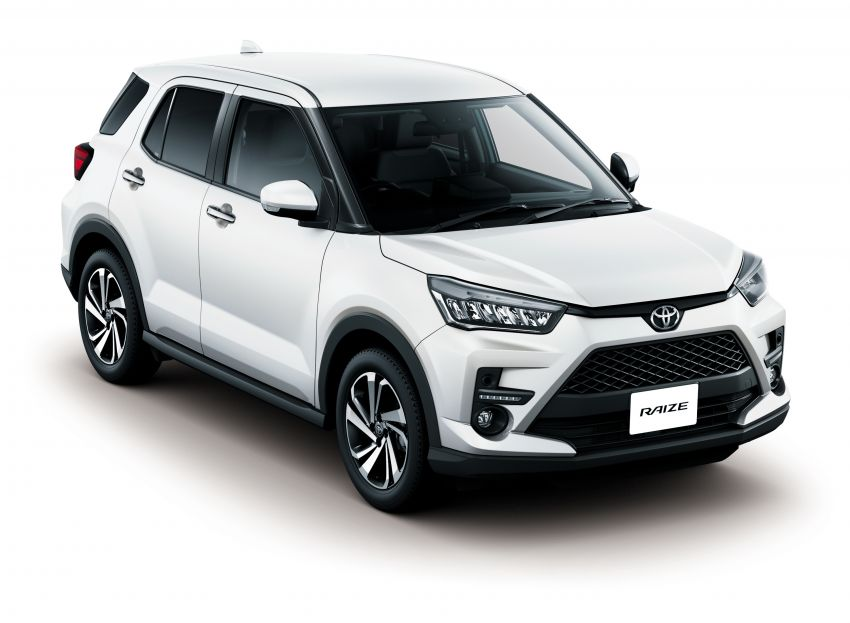 Toyota Raize revealed – rebadged Daihatsu Rocky, 98 PS 1.0L turbo three-pot, CVT, optional AWD, fr RM64k Image #1040639