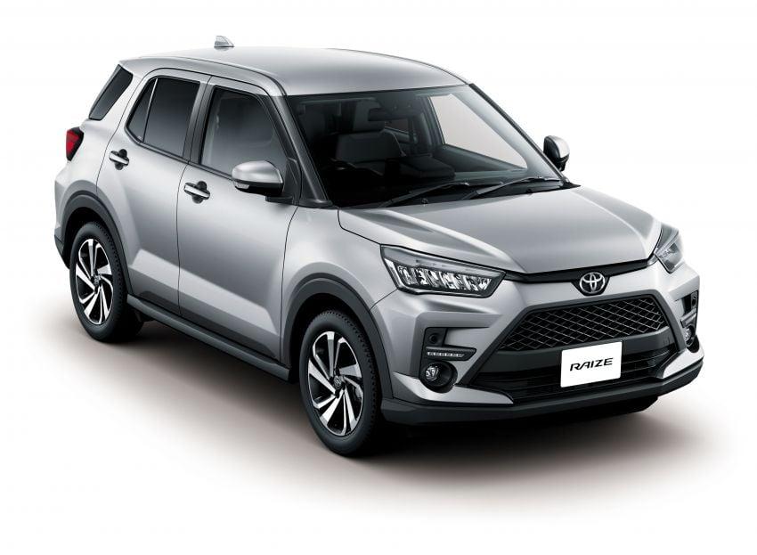 Toyota Raize revealed – rebadged Daihatsu Rocky, 98 PS 1.0L turbo three-pot, CVT, optional AWD, fr RM64k Image #1040592