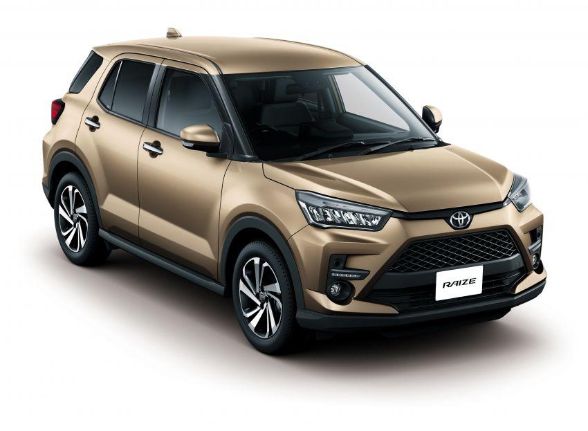Toyota Raize revealed – rebadged Daihatsu Rocky, 98 PS 1.0L turbo three-pot, CVT, optional AWD, fr RM64k Image #1040600
