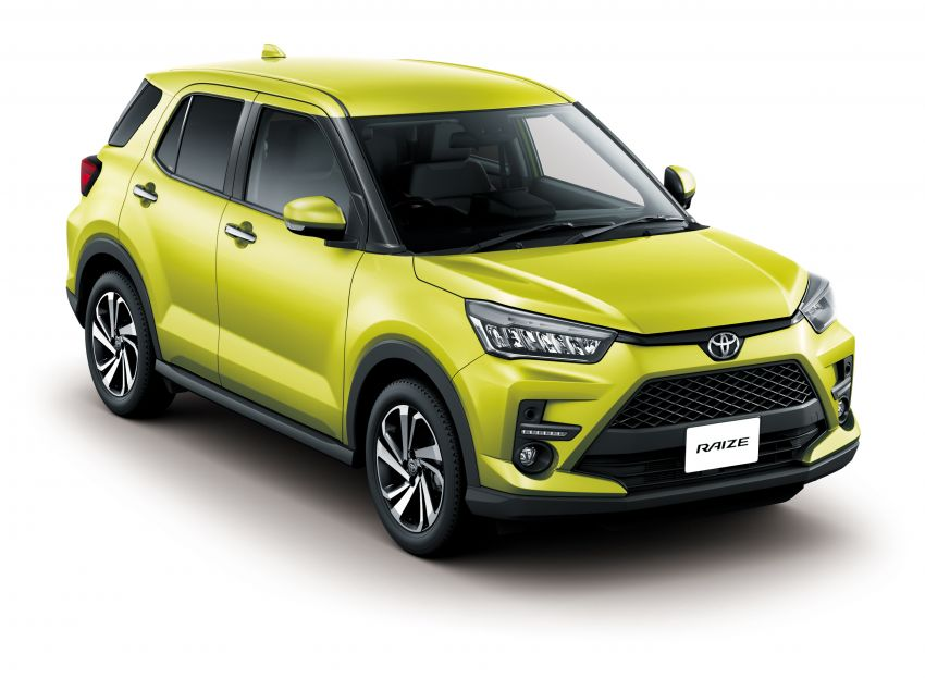 Toyota Raize revealed – rebadged Daihatsu Rocky, 98 PS 1.0L turbo three-pot, CVT, optional AWD, fr RM64k Image #1040605