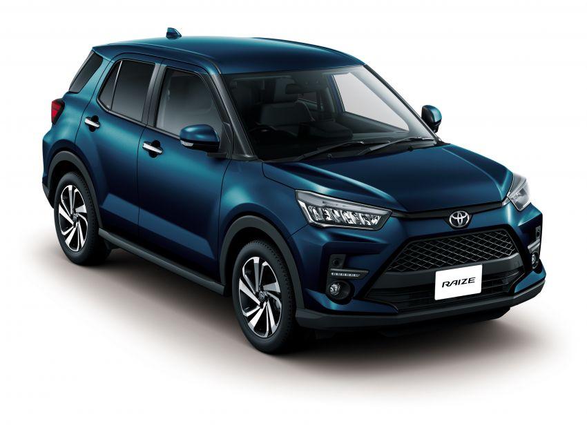 Toyota Raize didedahkan – <em>rebadge</em> dari Daihatsu Rocky, enjin 1.0 liter tiga-silinder, harga dari RM64k Image #1040603