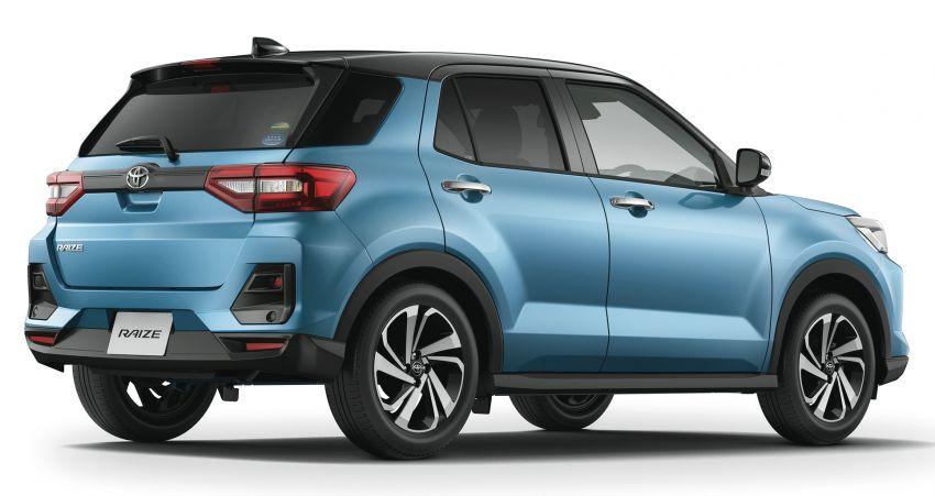 Toyota Raize didedahkan – <em>rebadge</em> dari Daihatsu Rocky, enjin 1.0 liter tiga-silinder, harga dari RM64k Image #1040564