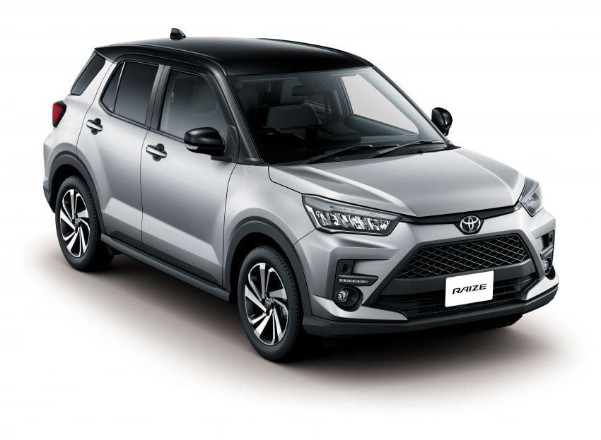 Toyota Raize revealed – rebadged Daihatsu Rocky, 98 PS 1.0L turbo three-pot, CVT, optional AWD, fr RM64k Image #1040612