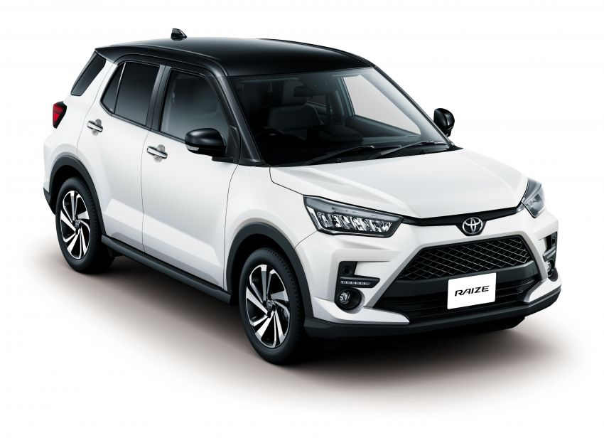 Toyota Raize revealed – rebadged Daihatsu Rocky, 98 PS 1.0L turbo three-pot, CVT, optional AWD, fr RM64k Image #1040614
