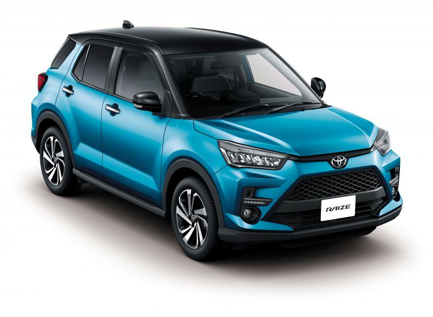 Toyota Raize didedahkan – <em>rebadge</em> dari Daihatsu Rocky, enjin 1.0 liter tiga-silinder, harga dari RM64k Image #1040609