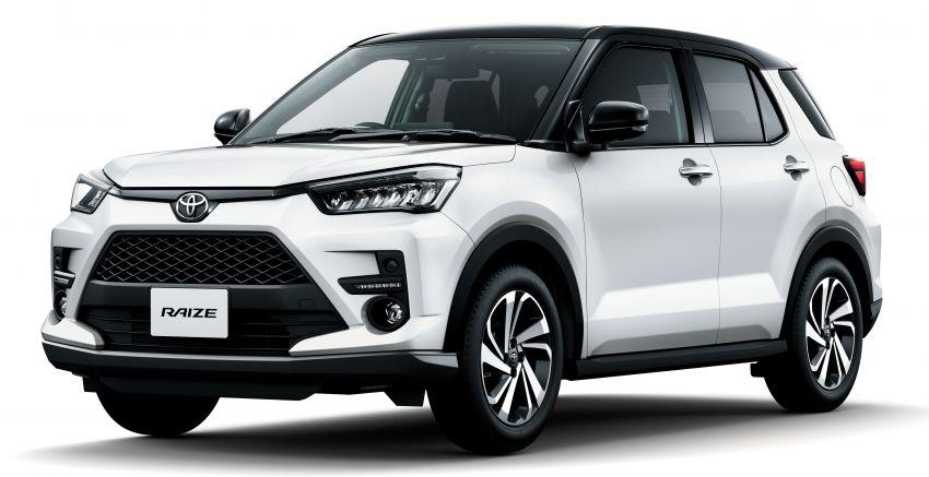 Toyota Raize didedahkan – <em>rebadge</em> dari Daihatsu Rocky, enjin 1.0 liter tiga-silinder, harga dari RM64k Image #1040611