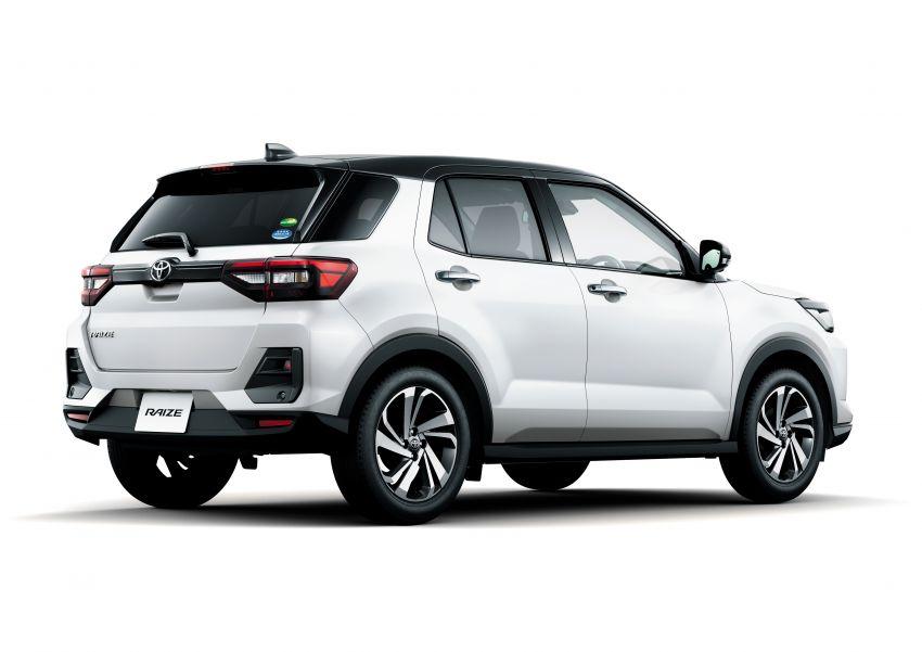 Toyota Raize revealed – rebadged Daihatsu Rocky, 98 PS 1.0L turbo three-pot, CVT, optional AWD, fr RM64k Image #1040627