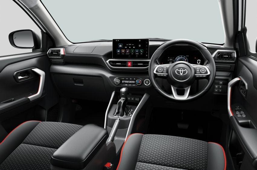 Toyota Raize revealed – rebadged Daihatsu Rocky, 98 PS 1.0L turbo three-pot, CVT, optional AWD, fr RM64k Image #1040628