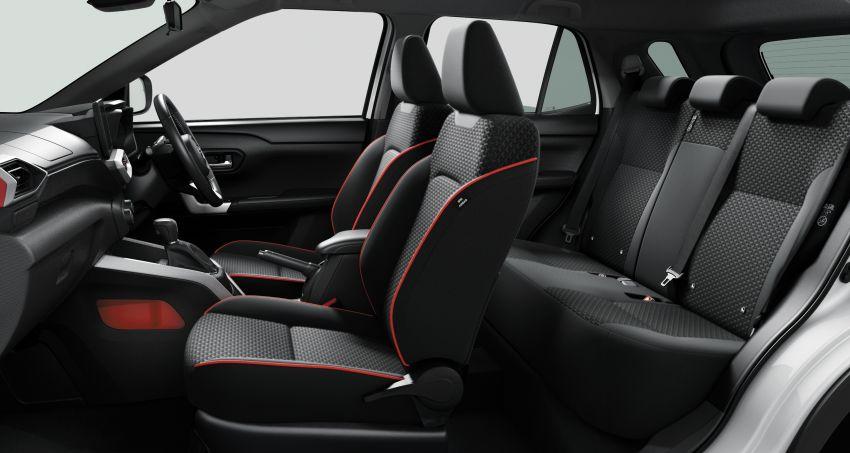 Toyota Raize revealed – rebadged Daihatsu Rocky, 98 PS 1.0L turbo three-pot, CVT, optional AWD, fr RM64k Image #1040629