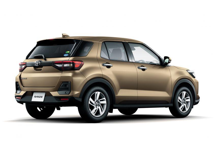 Toyota Raize didedahkan – <em>rebadge</em> dari Daihatsu Rocky, enjin 1.0 liter tiga-silinder, harga dari RM64k Image #1040619