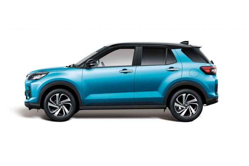 Toyota Raize didedahkan – <em>rebadge</em> dari Daihatsu Rocky, enjin 1.0 liter tiga-silinder, harga dari RM64k Image #1040566