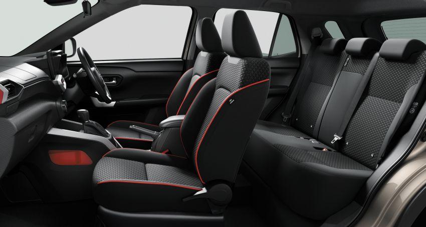 Toyota Raize revealed – rebadged Daihatsu Rocky, 98 PS 1.0L turbo three-pot, CVT, optional AWD, fr RM64k Image #1040633