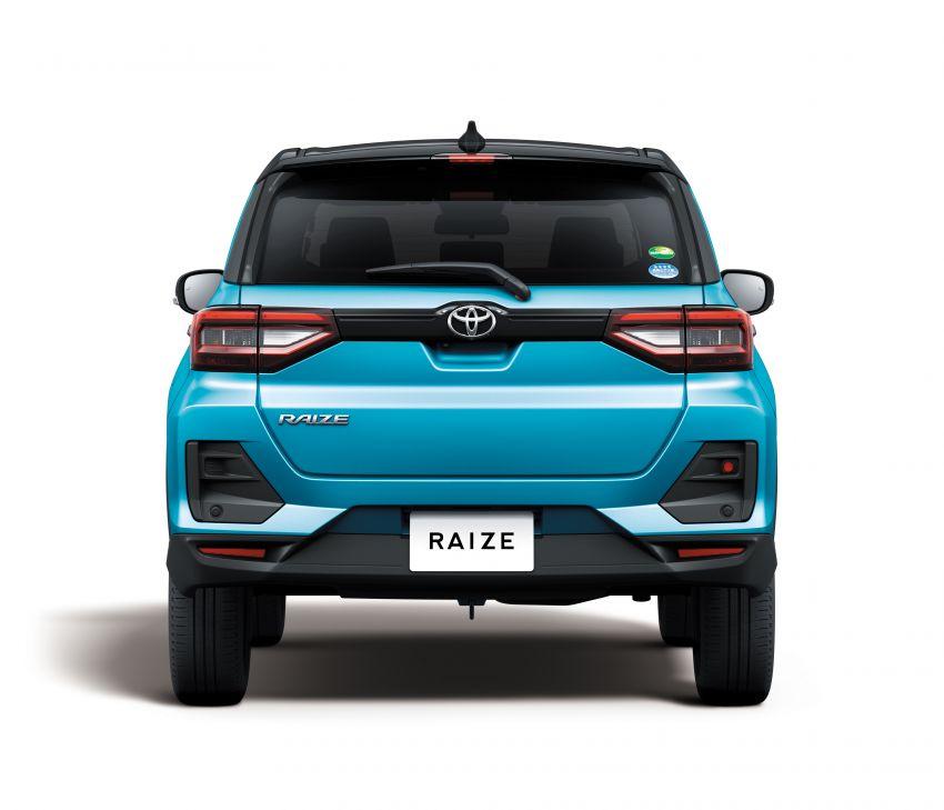 Toyota Raize didedahkan – <em>rebadge</em> dari Daihatsu Rocky, enjin 1.0 liter tiga-silinder, harga dari RM64k Image #1040569