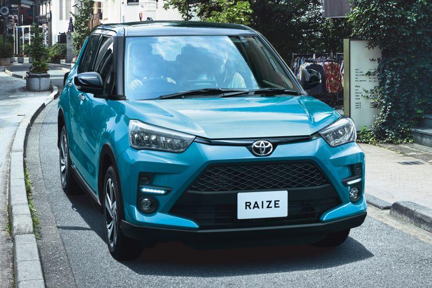 Toyota Raize revealed – rebadged Daihatsu Rocky, 98 PS 1.0L turbo three-pot, CVT, optional AWD, fr RM64k Image #1040542