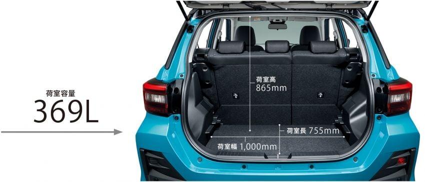 Toyota Raize revealed – rebadged Daihatsu Rocky, 98 PS 1.0L turbo three-pot, CVT, optional AWD, fr RM64k Image #1040546