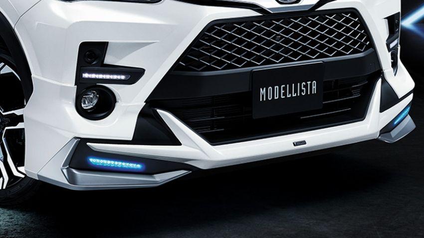 Toyota Raize Modellista dalam dua gaya berbeza Image #1043888