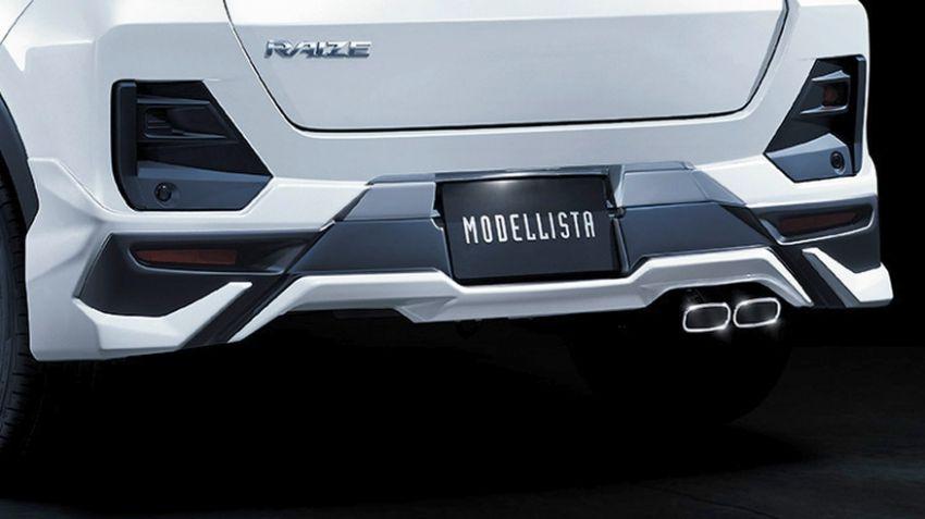 Toyota Raize – Modellista reveals two dress-up kit sets Image #1043793