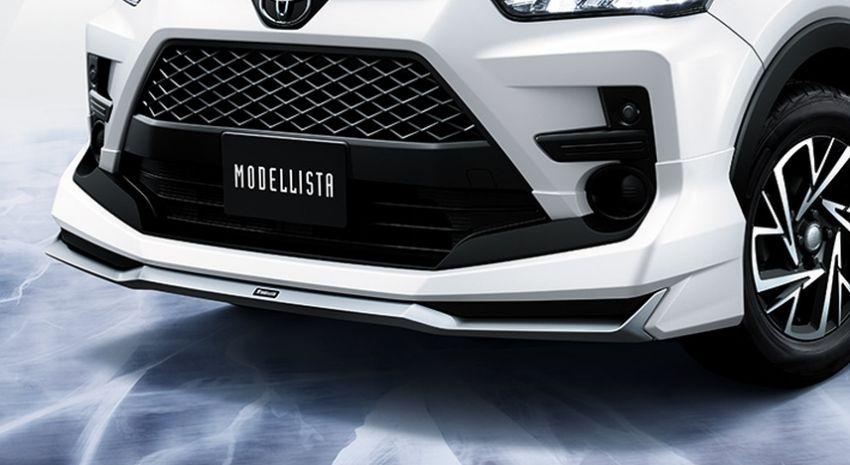 Toyota Raize – Modellista reveals two dress-up kit sets Image #1043797